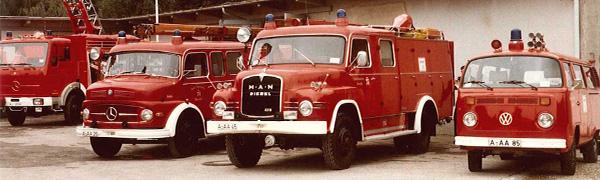 ehemalige Fahrzeuge