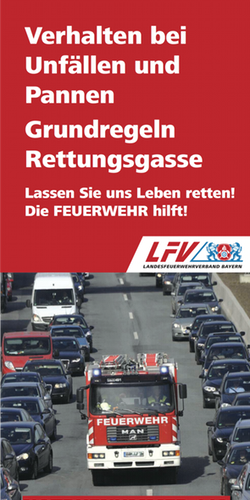 LFV Rettungsgasse